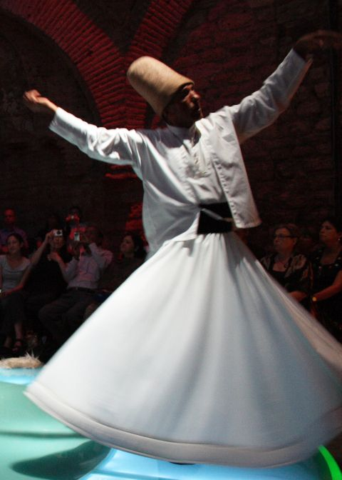 Marveling at the Whirling Dervishes in #Istanbul  #Turkey #ReflectionsEnroute