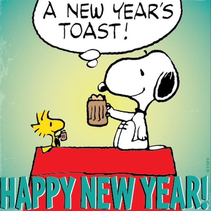 Snoopy : From us, to you. Happy New Year! http://t.co/w36u5GW4s2 | Twicsy - Twitter Picture Discovery: