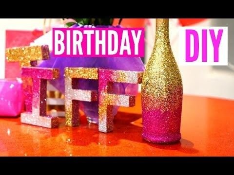 DIY Room Decor For Cheap! Simple and Cute Birthday Decoration!