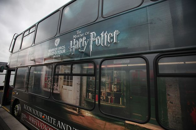 You crave even more, so you buy a ticket to the Warner Brothers Harry Potter studio tour, about an hour's journey outside London.