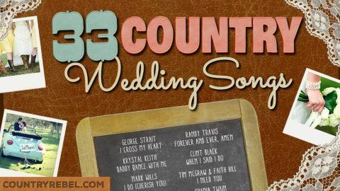 Top 33 Country Wedding Songs For A Perfect Playlist Video Music