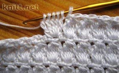 Patrones de traje saco, blusa y falda tejido con ganchillo combinados con lino