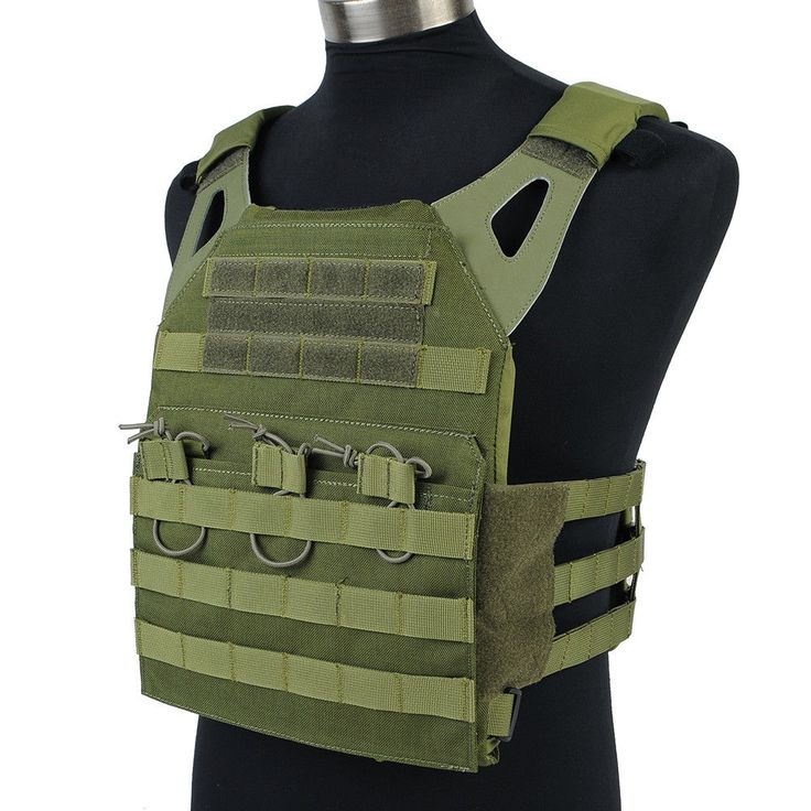 Emerson Tactical Molle JPC Vest Plate Carrier Paintball Hunting Chest Rig OliveD