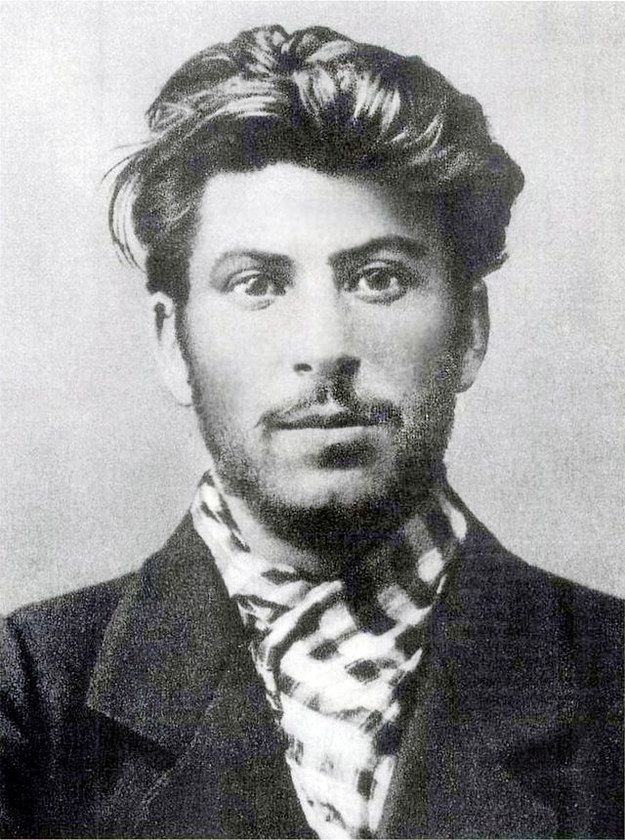 Joseph Stalin as a young man