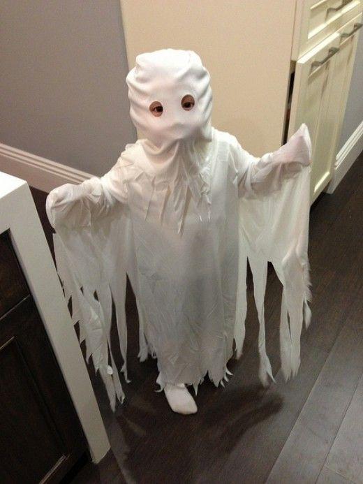 Homemade Ghost Costume Ideas