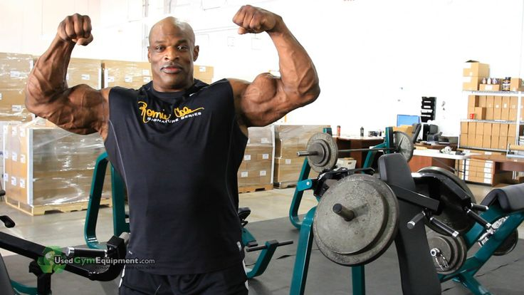 Ronnie Coleman loves the UGE gear we sent him!