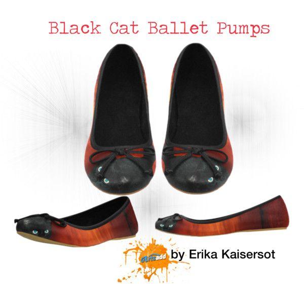 Black Cat Juno Ballet Pumps. Worldwide #freeshipping buy on #artsadd #shoes