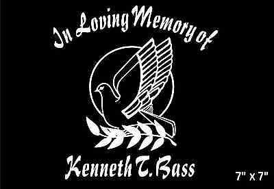 Dove-In-Loving-Memory-Of-Decal-Peace-Branch-name-custom-car-sticker-graphic
