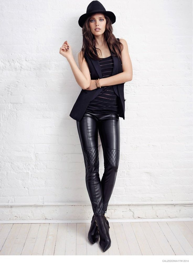 Emily DiDonato Stars in Calzedonia Fall 2014 Catalogue. love the pants