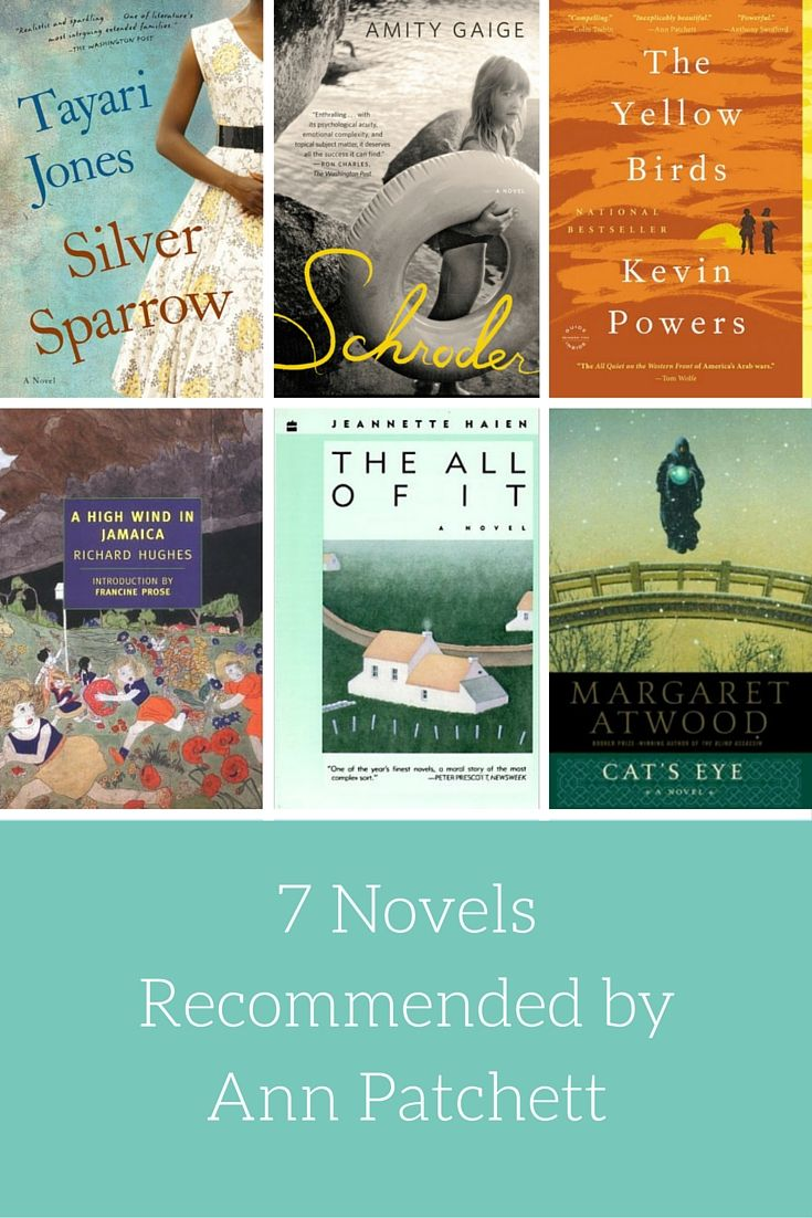 7 Novels Recommended by Ann Patchett