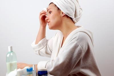 DIY anti-aging skin care: Things You'll Need      Vegetable oil     Cotton wool balls     Plain yogurt     Sugar     Avocado     Lemon     Olive oil     Vitamin E oil