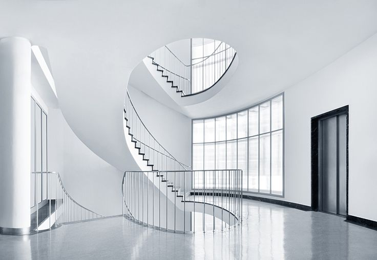 Flair by Ralf Wendrich, via 500pxArchitecture Buildings, Stairs Well, Awesome Interiors, Interiors Design, Minimalist Photos, Interiors Spaces, Stairs Hall, Amazing Architecture, White White