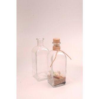 Sticla 500 ml Quadra Betti | Sticle cadou marturii nunta | Sticle alcool pt nunta
