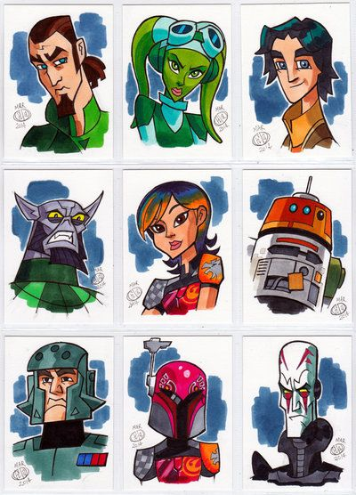 Star Wars Rebels by Chad73.deviantart.com on @deviantART