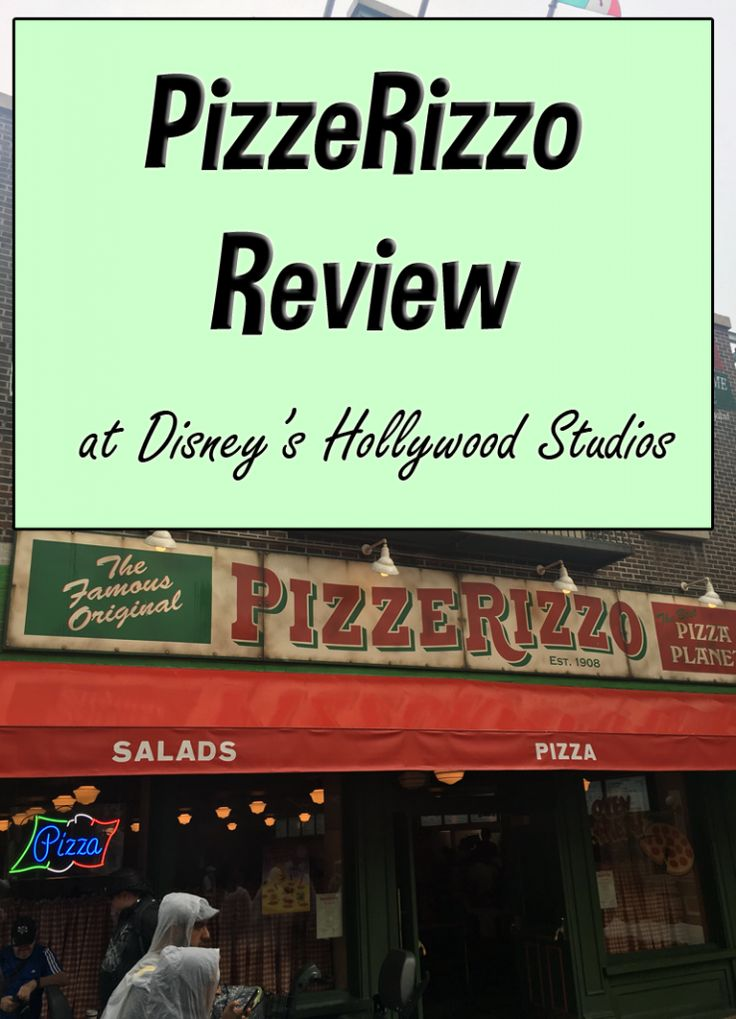 PizzeRizzo Review | Muppet Themed Dining