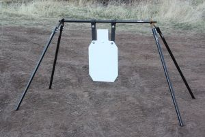 Gong Stand with silhouette