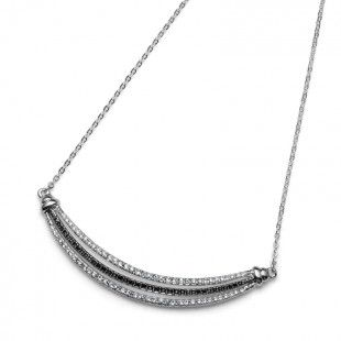 Collier Impact rhod. cry/jet #OliverWeber