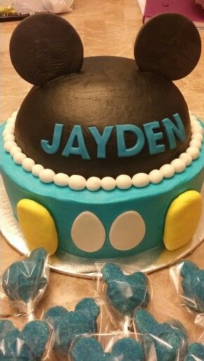 baby shower mickey mouse cake cakes by me pinterest