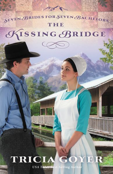 The Kissing Bridge, book three in my Seven Brides for Seven Bachelors series!