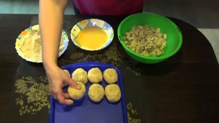 Картофельные котлеты. Видео рецепт