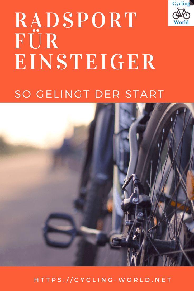 Radsport Fur Einsteiger Radfahren Radsport Und Rennrad Fahren