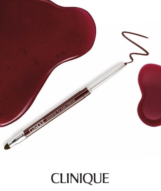 This long-wearing eyeliner glides on effortlessly and smudges to a smooth blur of color. With the convenient smudge tool on opposite end of the applicator, this automatic pencil never needs sharpening. Its silky formula can be used alone or over eye shadow and is always ready to line and define with ease. #Eyeliner #BlackHoney #Clinique #Beauty #Makeup