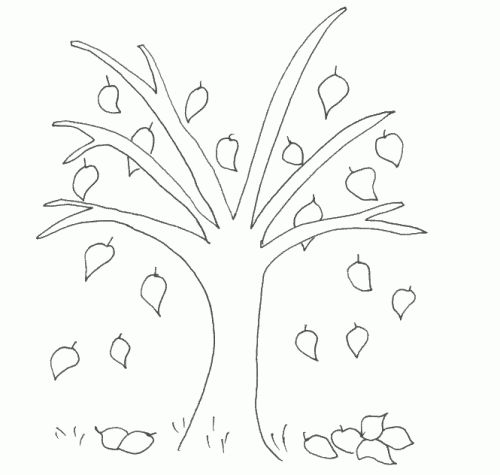 107 best Coloring - Autumn images on Pinterest Coloring, Coloring - best of crayola coloring pages autumn leaves