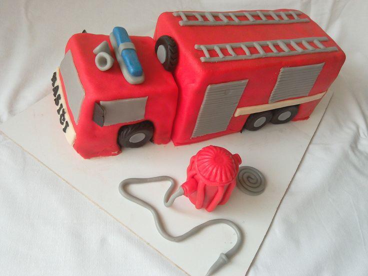 Firecar cake, Brownie + Blackberry butter creme