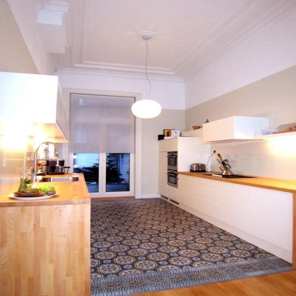cementtegels + parket #floor