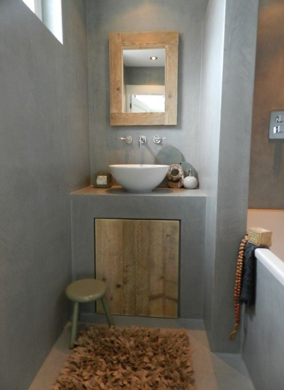 Spiegel steigerhout   Accessoires   Huis & Grietje