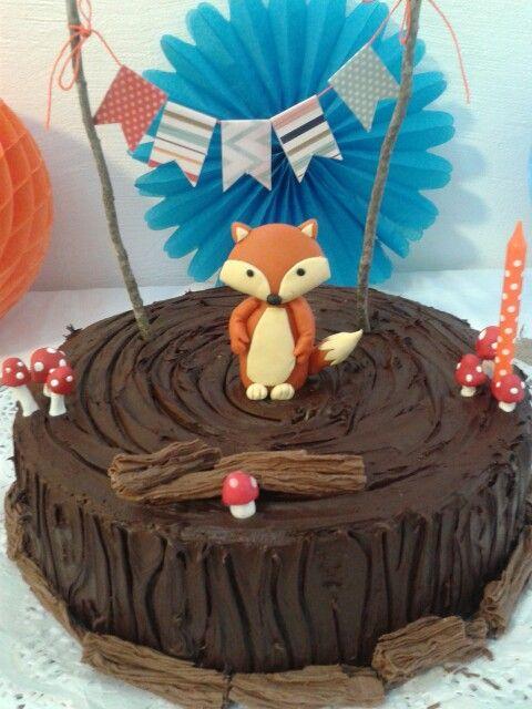 Torta Animales Del Bosque Cakes Pinterest Animales