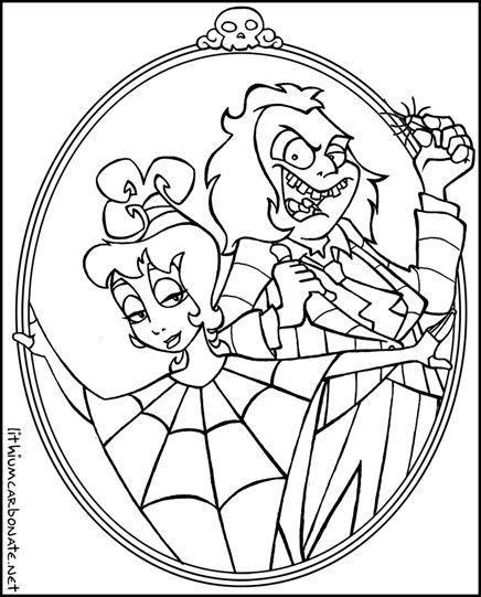 Coloring Pages Beetlejuice best ideas For Printable and Coloring Pages