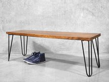 Hairpin Legs Bench
