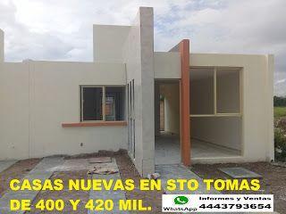 Venta de Casas Y Departamentos En S.L.P.: Se Venden Casas Nuevas En Fracc. Sto Tomas.