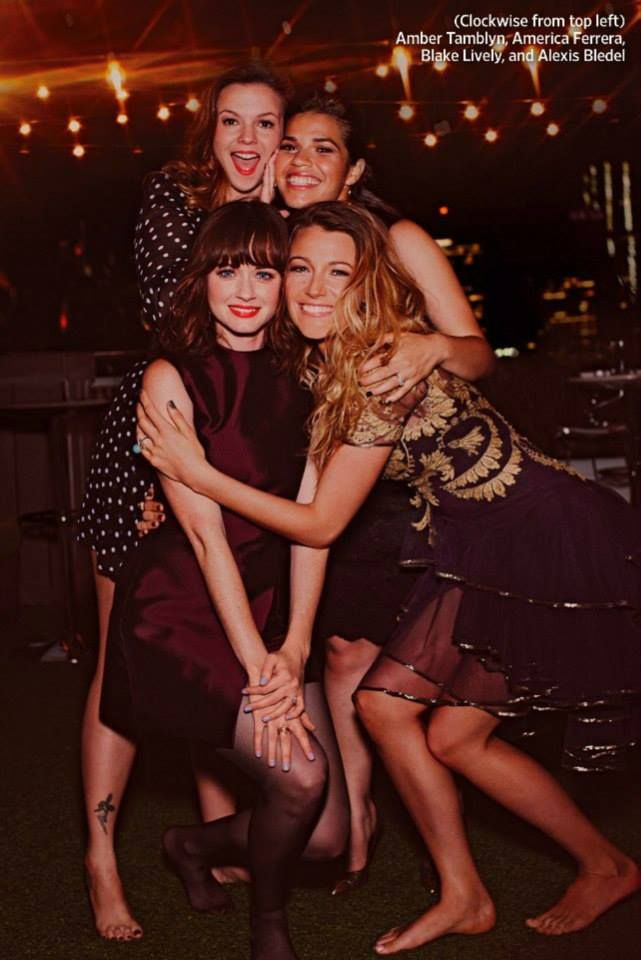 Blake Lively, America Ferrera, Amber Tamblyn, and Alexis Bledel - The Sisterhood of the Traveling Pants (EW's Reunion Issue 2013)