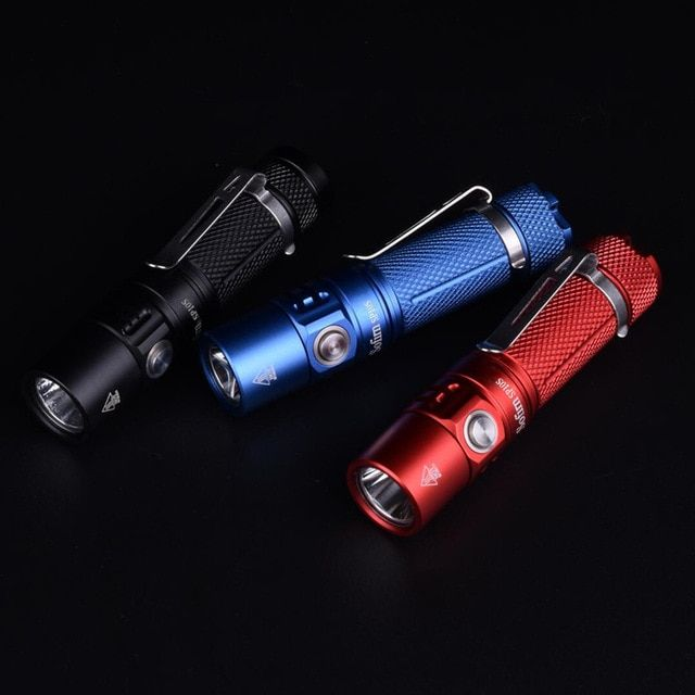 Mini LED Torch Light Pocket Keychain Keyring Camping Flashlight Aluminum alloy