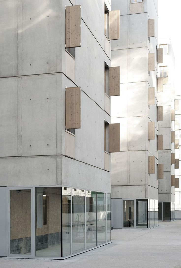 100 best images about facades on pinterest for Minimalist residential architecture
