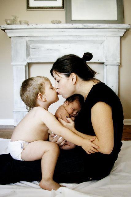 Mom with kiddos