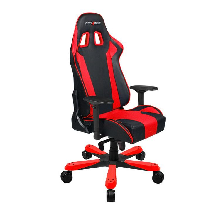 dxracer ks06nr big and tall gaming chair ergonomic chair executive chairred - Tall Office Chair