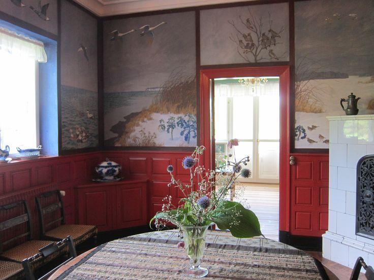 Dining room Johannes Larsen Museum Fyn