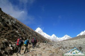 Average temperature, weather & climate throughout Everest base camp trek in august are good enough to see the sights