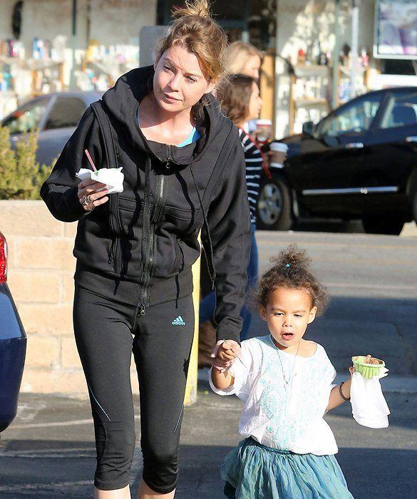 Ellen Pompeo with daughter Stella | Stars and their kids ...