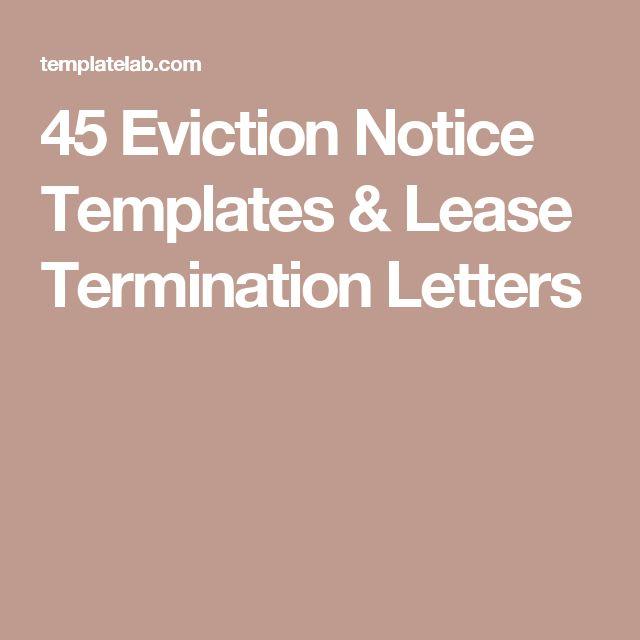 Best 25+ Eviction notice ideas on Pinterest Baby eviction notice - letter of eviction notice