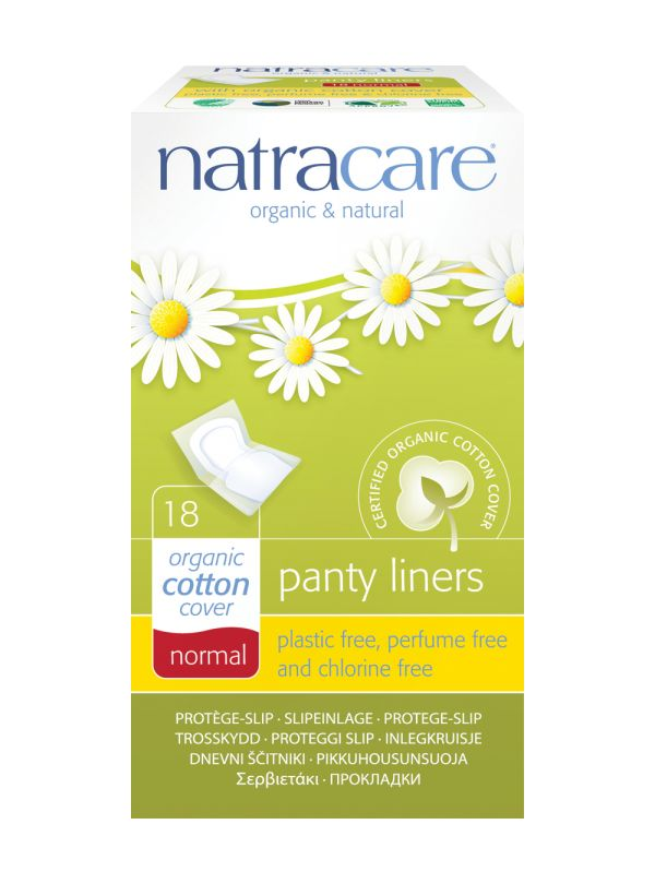 Natracare Normal Panty Liners (Wrapped) - Feminine Care & Hygiene £1.65 This new organic and natural panty liner is made from certified organic cotton and renewable natural materials
