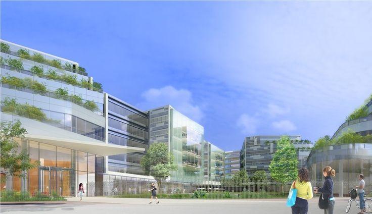CAMPUS VAL DE BIEVRE - Gentilly (94) - MO: MACSF - Promoteur: Bouygues Immobilier - Architectes: Valode & Pistre Architectes - Photographe: NR - NF HQE Bâtiments Tertiaires - Niveau HQE Exceptionnel