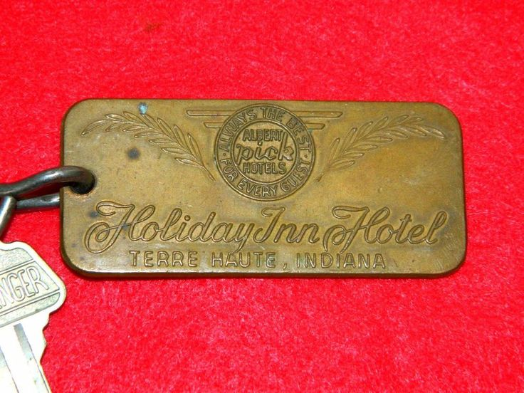 Hollywood Knickerbocker Hotel Room Key