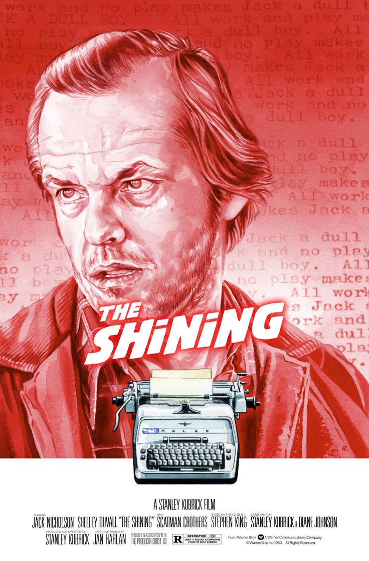 "xombiedirge: ""The Shining by Graeme Neil Reid / Tumblr / Store """