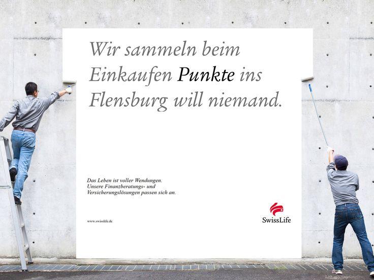 Wir sammeln beim Einkaufen PUNKTE ins Flensburg will niemand. #wendesatz