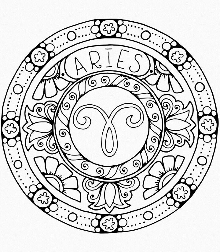 Pin By Suci Maharani On Coloring Pages Zodiac Signs Colors Zodiac Signs Aries Aries Art