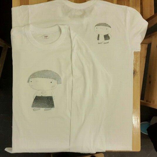우와~~~단지 단체 티셔츠 만들었어요
